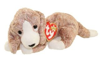 TY Beanie Baby   SNIFFER the Dog  6 5 inch