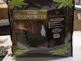 Regal Comfort one piece comforter King 104 in by 94 in