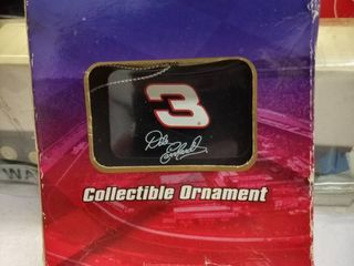 trevco NASCAR collectible ornament number three the Intimidator Dale Earnhardt