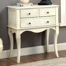The Gray Barn Cedar Hollow Vintage Style 3 drawer Hallway Table  Retail 313 99 antique cream