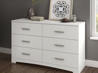 South Shore Contemporary Gramercy 6 Drawer Double Dresser  Retail 247 49