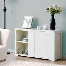 Copper Grove Okhangaron Wooden Storage Cabinet with Sliding Doors  Retail 151 99 white