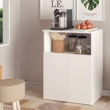 Boahaus Poitiers Kitchen Pantry  02 doors  01 shelf  Retail 109 99 white