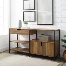 Carbon loft 58 inch storage shelf Retail 303 99 dark walnut