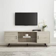 Carson Carrington Esbo 70 inch Mid century TV Console  Retail 289 99 birch