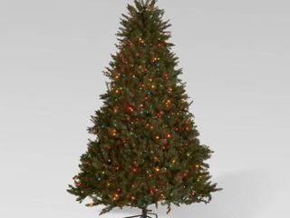 7 5 foot Fraser Fir Hinged Artificial Christmas Tree by Christopher Knight Home  Retail 246 99 multi colored