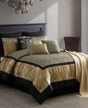 Closeout  Kosta 10 Pc  Queen Comforter Set Bedding