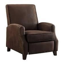Monty Push Back Reclining Chair  Retail 349 49 brown