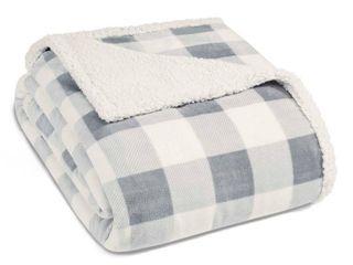 Eddie Bauer Plush Sherpa Blanket