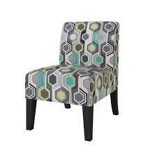 Copper Grove Durbuy Upholstered Armless Chairs  Set of 2  Retail 289 99 green multi beehive