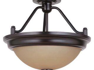 Craftmade XPS15 2 light Convertible Semi Flush Mount light