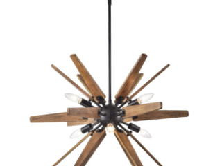 Retail 178 99 tural Wood 6light Chandelier Retail 178 99