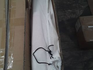 Teepee Tent 4 Pole Small Grey Stripe