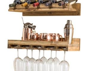Del Hutson Design Rustic luxe Wine Set
