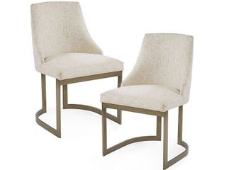 Madison Park Robertson Dining Chair  Set of 2  Retail 629 99