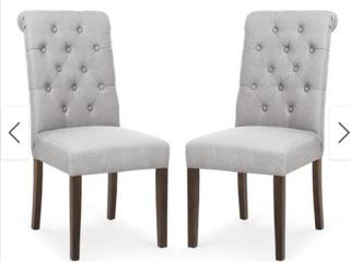 Edgemod Atlanta Dining Chair  set of 2