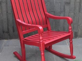 Cambridge Casual lyon Mahogany Oversize Rocking Chair Retail 222 99