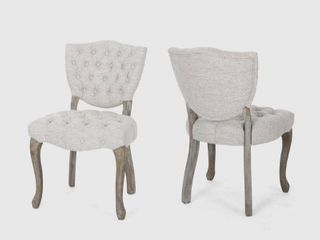 Crosswind Fabric Dining Chair by Christopher Knight Home  Retail 249 98