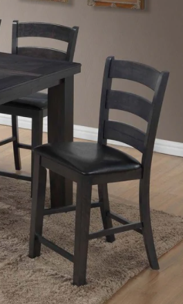 Pair of Best Master Furniture Carole Grey Counter Stools