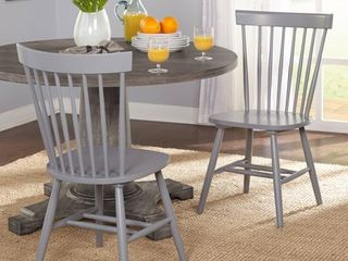 Simple living Venice Dining Chairs  Set of 2  Retail 119 49