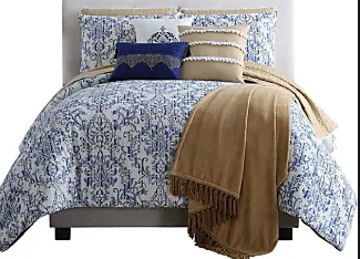 Pacific Coast Textiles 10 Piece Reversible Comforter   Coverlet Set King