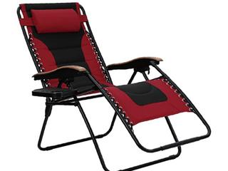 Phi Villa Padded Zero Gravity Chair Xl