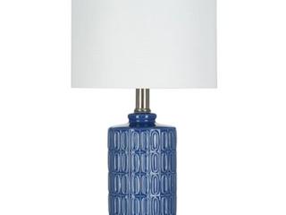 Catalina lighting Blue Ceramic Accent lamp  18