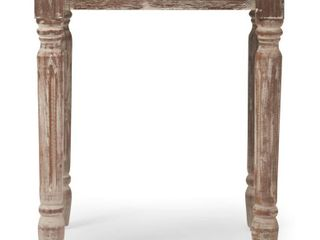 Finch Rothko Side Table  Distressed Natural  Retail 84 99