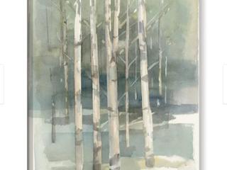 The Gray Barn Hummingbird Haven Avery Tillmon  Birch grove I  Gallery Wrapped Canvas