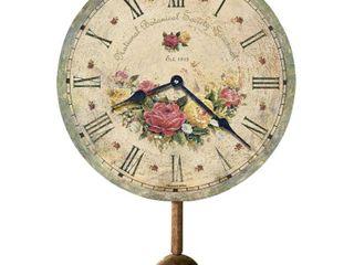 Howard Miller 620 401 Savannah Botanical Society VI Wall Clock