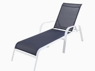 Allen   Roth Truxton Chaise lounge Chair