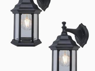 ProjectSource Set of 2 Wall lanterns