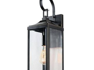 1 light Outdoor Wall lantern in Imperial Black Retail 90 91