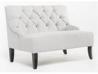 Nicole Fabric Settee by Christopher Knight Home   31 h x 40 w x 30 d Retail 301 99