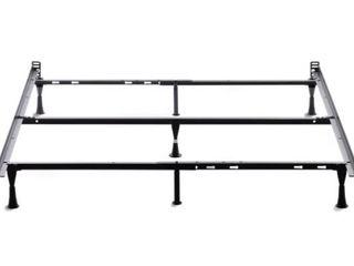 OSleep Brookside Adjustable Queen  Full  Twin Metal Bed Frame   Retail 75 48
