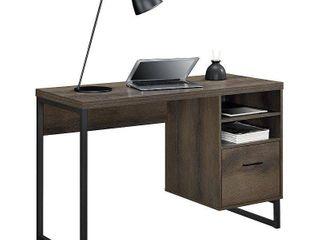 Ameriwood Home Candon Desk  Distressed Oak