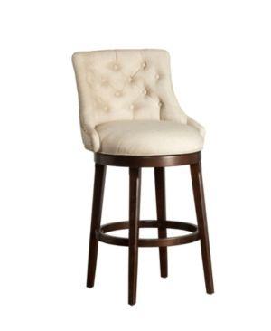 Halbrooke Swivel Barstool Smoke Cream Hillsdale Furniture