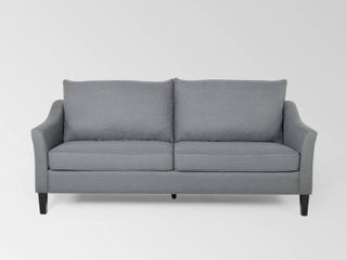 Almeda Contemporary Fabric 3 Seater Sofa by Christopher Knight Home  Retail 535 99