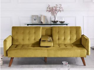 Carson Carrington Salsater Convertible Sleeper Sofa Bed  Retail 299 99