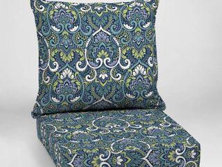 Arden Selections Sapphire Aurora Damask Outdoor Deep Seat