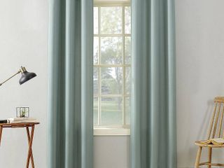 No  918 Sora Casual Textured Grommet Curtain Panel