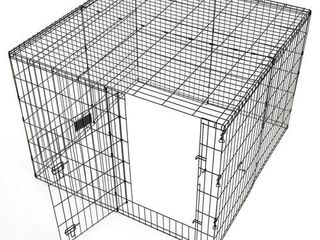 Exercise Pen Metal Top   Dog Pen Top Fits Midwest   Most Other Exercise Pen Dog Pen Brands  Includes Hardware  Black