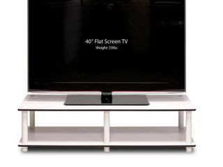 Furinno Just low Rise TV Stand for TV up to 30