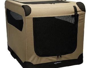 Amazonbasics Folding Soft Dog Crate  30  30