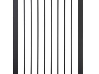 Munchkin Easy Close Xl Metal Baby Gate  29 5    51 6  Wide  Black   Not Inspected