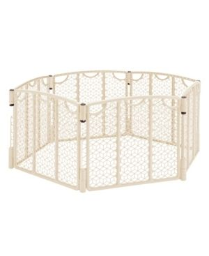 Versatile Play Space  Indoor   Outdoor Play Space  Portable  18 5 Square Feet of Enclosed Space  Cream