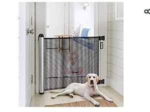 Meinkind Retractable Safety Gate Item   MKSTD01   Not Inspected
