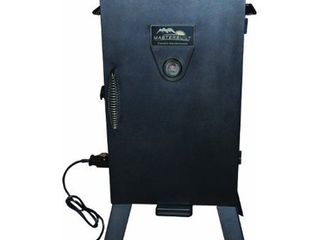 Masterbuilt MB20070210 Analog Electric Smoker with 3 Smoking Racks  30 inch  Black