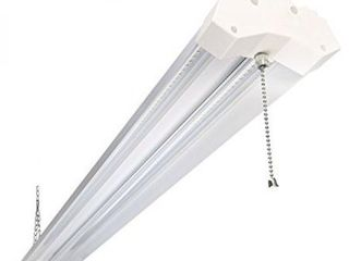 5000K lED Shop light linkable  4FT Daylight 42W lED Ceiling lights for Garages  Workshops  Basements  Hanging or FlushMount  with Plug and Pull Chain  4200lm  ETl  1