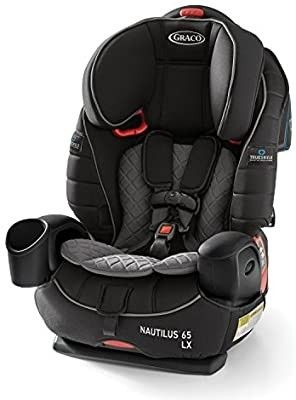 Graco Nautilus 65 lX 3 in 1 Harness Booster Car Seat  Featuring TrueShield Side Impact Technology